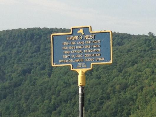 Hawks Nest Plaque